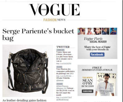 Bucket Bag Serge Pariente